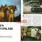 CAMEL TROPHY - 1988 WINNER TURKISH TEAM '88 SULAWESI CAMEL TROPHY PRINT ARTICLE