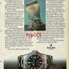 ROLEX - 1982 - EXPLORER THOR HEYERDAHL & HIS REED SHIP TIGRIS PRINT AD