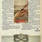 ROLEX - 1982 - PRIMA BALLERINA MERLE PARK'S FAVOURITE PERFECT PARTNER PRINT AD