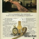 AUDEMARS PIGUET - 1979 - IS IT SHAMELESS TO BE SURE OF STG SO EXPENSIVE PRINT AD