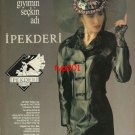 IPEK DERI - 1996 - EXCLUSIVE NAME IN LEATHER GARMENTS TURKISH PRINT AD
