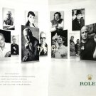 ROLEX - 2013 -  IT DOESN'T JUST TELL TIME IT TELLS HISTORY PRINT AD