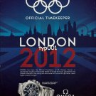 OMEGA - 2012 - OFFICIAL TIMEKEEPER LONDON 2012 XXX. OLYMPIAD SEAMASTER PRINT AD