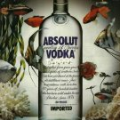 ABSOLUT - 1990 - ABSOLUT TREASURE PRINT AD