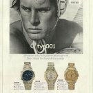 SEIKO - 1992 - IF HE CAN GO 1.05 SECONDS FASTER HE WILL MAKE THE TEAM PRINT AD