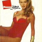 KOM - 1992 - '92 FASHION IN SWIMWEAR RED ONE PIECE PRINT AD