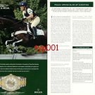 ROLEX - 2005 - EQUESTRIAN GRAND SLAM OF EVENTING PRINT AD