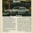 MAZDA - 1980 - THE ESTABLISHED NAME IN THE ARAB WORLD PRINT AD