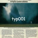 FUJITSU - 1980 - SYSTEM SOLUTION TO WATER MANAGEMENT  PRINT AD