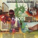 SHERATON - 1980 - VISIT SHERATON'S NORTH AMERICA  PRINT AD