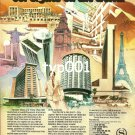 SHERATON - 1980 - WE'VE SET OUR SIGHTS ON THE WORLD PRINT AD