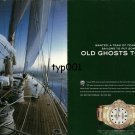 ROLEX - 2005 - TRANSATLANTIC CHALLENGE - PUT OLD GHOSTS TO BED PRINT AD