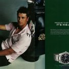 ROLEX - 2006 - ADAM SCOTT - PRESSURE IS NOT HIS ENEMY IT IS HIS ALLY  PRINT AD