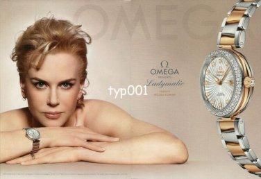OMEGA - 2013 - PRESENTS LADYMATIC STARRING NICOLE KIDMAN PRINT AD