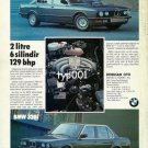 BMW - 1987 - 520i 320i  2LT 6CYL 129BHP TURKISH PRINT AD