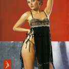 BANU - ANGEL - 2003 SEXY TRANSPARENT LINGERIE LACE ORIGINAL TURKISH PRINT ADS