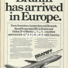 BRANIFF - 1979 - BRANIFF HAS ARRIVED IN EUROPE PRINT AD