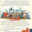 AIR FRANCE - 1974 FRENCH PRINT AD - MAXIMUM COMFORT MINIMUM FUEL - BLACHON