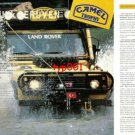 CAMEL TROPHY - 1989 WINNER TURKISH TEAM '88 SULAWESI CAMEL TROPHY PRINT ARTICLE
