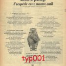 ROLEX - 1967 -  ONLY 100 FRENCH CAN GET IT THIS YEAR PRINT AD