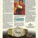 ROLEX - 1974 - RED ADAIR &  DEVIL'S CIGARETTE LIGHTER PRINT AD