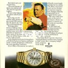 ROLEX - 1979 - RED ADAIR &  DEVIL'S CIGARETTE LIGHTER PRINT AD