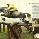 ROLEX - 1984 - ULTIMATE BALANCING ACT - LUCINDA GREEN HORSE RACING PRINT AD