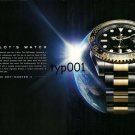 ROLEX -  2010 - THE PILOT'S WATCH PAN AM PRINT AD