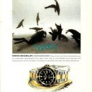 ROLEX - 2000 - DAVID DOUBILET UNDERWATER PHOTOGRAPHER PRINT AD