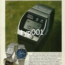SEIKO - 1976 - LC DIGITAL ANOTHER ACHIEVEMENT OF QUARTZ TECHNOLOGY PRINT AD