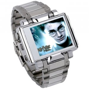 4GB - NEW Stainless Steel Video Watch MP4/MP3