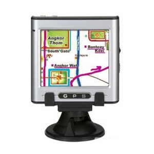 GPS Navigation with 3.5 inch Touch Screen - MP3/MP4