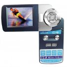 Palm Sized Digital Video Camera - 2.5 Inch TFT LCD Rotating Screen - WebCam