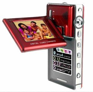 2.4 inch TFT LCD 270 degree eddy Digital Camcorder DV1285
