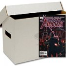 (10) BCW SHORT COMIC BOOK STORAGE BOXES - 150 COUNT
