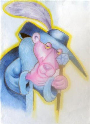"""The Pink Panther (5""""x7""""/8""""x10"""")"""