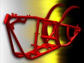 300 Series Softail Frame - Custom Chopper / Motorcycle Frames