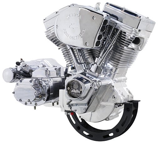 Ultima 107 or 113 Motorcycle / Chopper Motor - Engine - Driveline