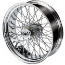 Chrome 60 Spoke Wheel / Rim - Motorcycle / Custom Chopper