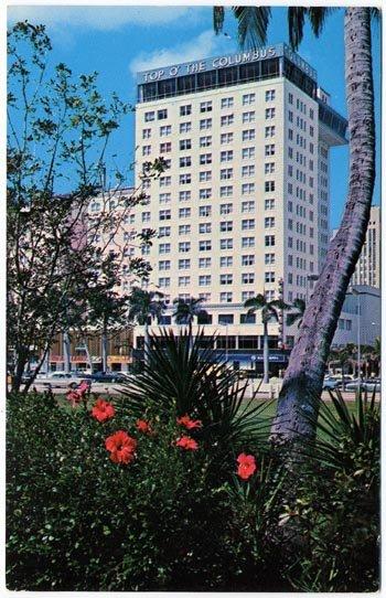The Columbus Hotel, Biscayne Blvd., Miami, FL