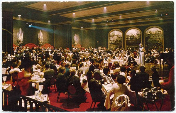 The Venetian Room, Fairmont Hotel, Dallas, TX