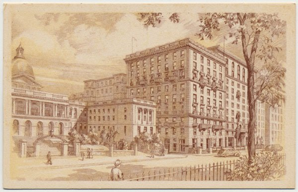 Hotel Bellevue, Beacon Hill, Boston, MA