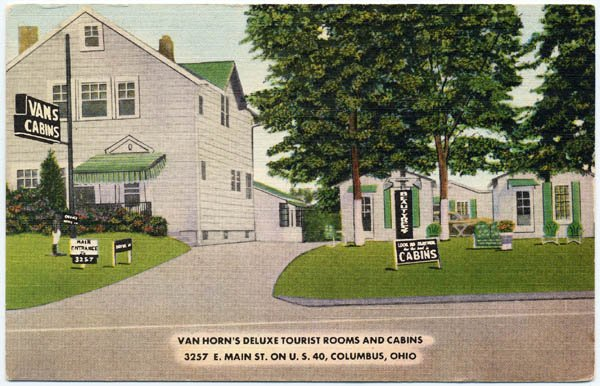 Van Horn's Deluxe Tourist Rooms and Cabins, Columbus, OH