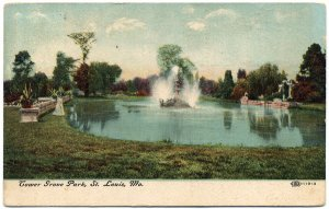 Tower Grove Park, St. Louis, MO c1908