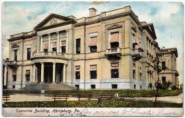 Executive Building, Harrisburg, PA c1906