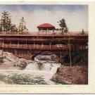 Rustic Bridge & Pavilion in Lester Park, Duluth, MN pre-1910