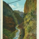 Suspension Bridge Over the Royal Gorge, CO - D&RGW RR