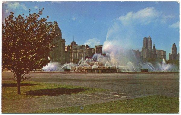 Buckingham Fountain, Grant Park, Chicago, IL