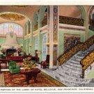 Lobby, Hotel Bellevue, San Francisco, CA