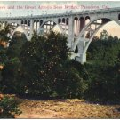 Orange Grove & Great Arroyo Seco Bridge, Pasadena, CA